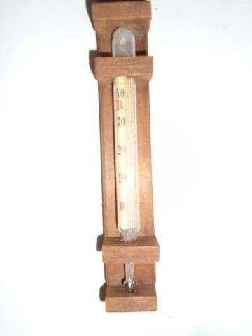 Termômetro Antigo De Parede Para Ambientes - Foto 3