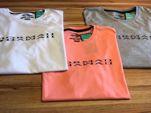 Camiseta Masculina Original Mormaii 100% algodão Presente dia dos Pais - Foto 3