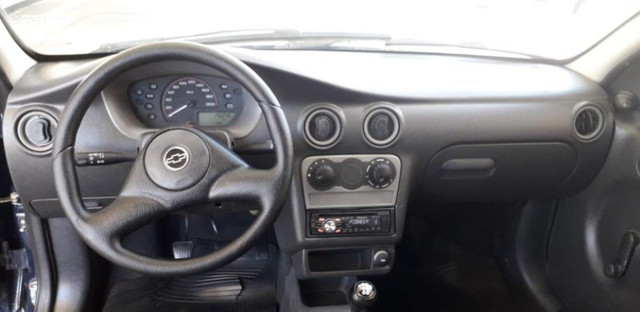 Chevrolet Celta 1.0 8V 2004 Azul Confira ! - Foto 10