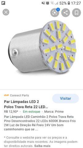 Jogo de lampadas em led e par de lanterna traseira - Foto 4