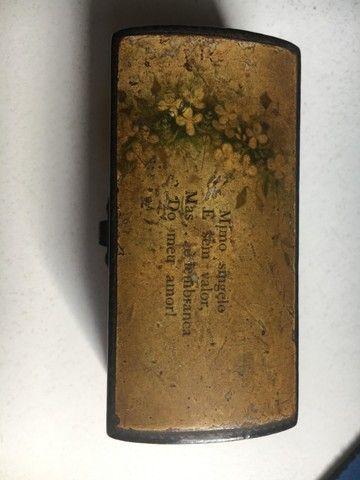 Caixinha antiga da Clark & COs Anchor