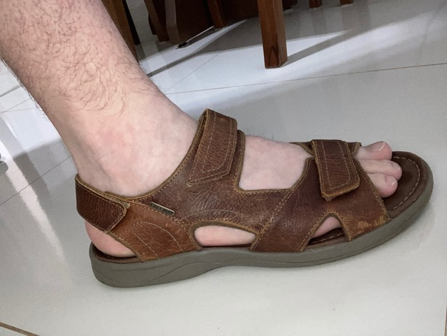 Sandália masculina Freeway  - Foto 5