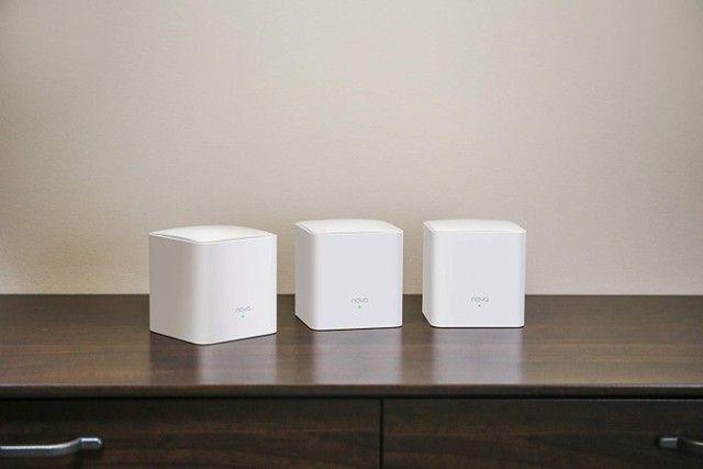 Roteador Wi-fi Mesh Com 3 Gigabit Dual Band Mw5c Branco - Foto 2