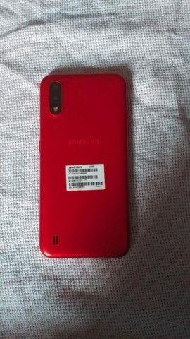 A01 novo com nota fiscal, cor Vermelha  - Foto 3