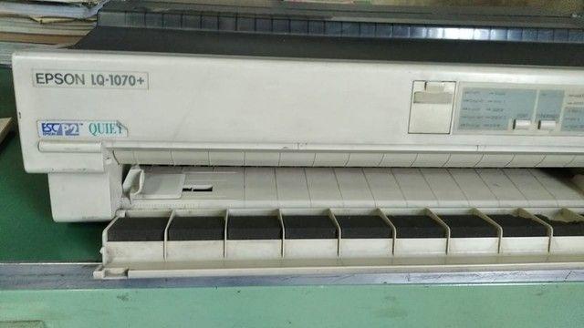 Impressora Matricial Epson 132 colunas - Foto 3