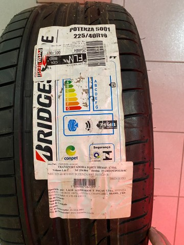 Pneu Bridgestone Potenza S001 Runflat 225 40 R19