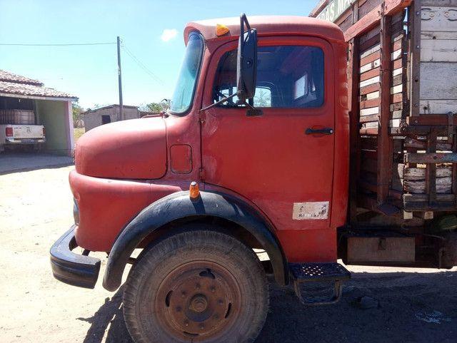 Caminhão 11.13 ano 74 - Foto 3