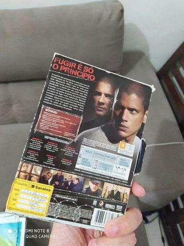 JOGOS PS3 + PRISON BREAK EM DVD PRIMEIRA TEMPORADA - Foto 2