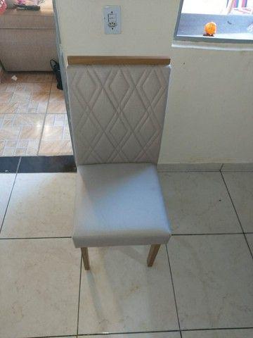 Mesa Guarda Tampo Vidro 1,60x0,90 com 6 Cadeiras - Foto 3