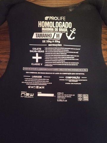Barbada - Kit colete salva-vidas ProLife / Sapatilha NeoPrene e Luva Mormaii - Foto 4