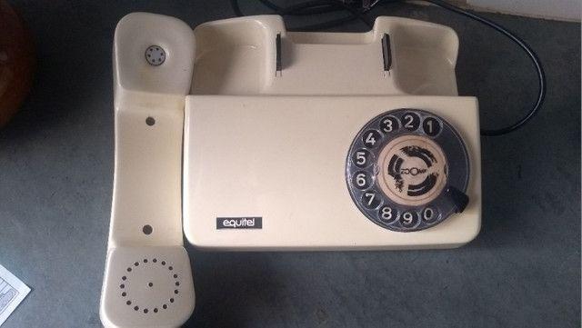 Telefone antigo - retro - Antiguidade - Foto 2