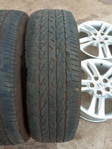 Jogo Pneus Sem Rodas Aro 17 Honda Crv 2011  - Foto 8