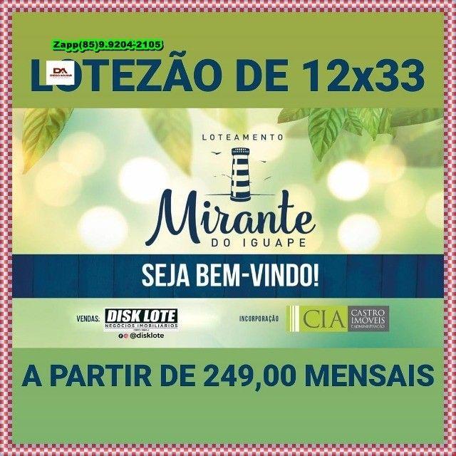 Loteamento Mirante do Iguape!!!!