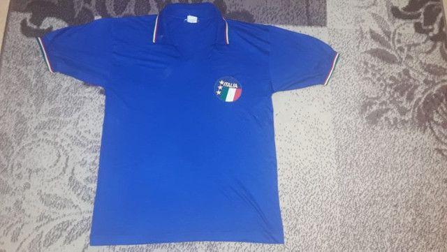 Kit 4 Camisas De Futebol Relíquias P/ Colecionadores - Foto 4