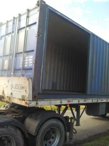 Container hc 40 ...duas partes já estruturado