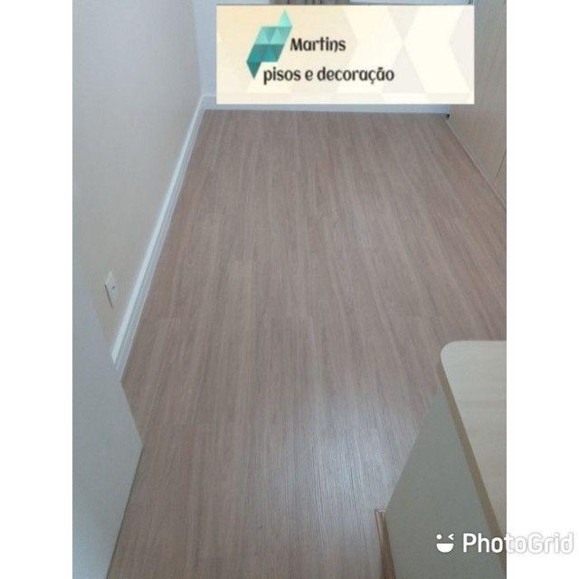pisos laminados , vinilico e rodapes - Foto 3