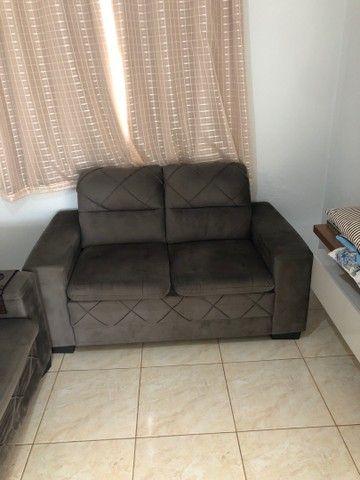 Sofá de 2 peças - 5 lugares - Foto 2