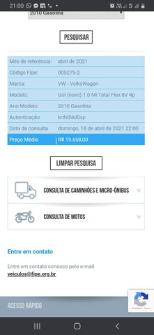 Vendo gol 1.0 trend Flex troco por moto - Foto 6