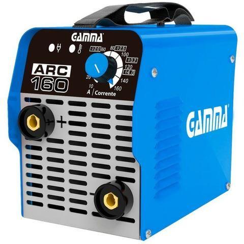 Inversora de Solda Eletrodo 160A G3472Br2 Gamma - 220V (novo na caixa com garantia!) - Foto 2