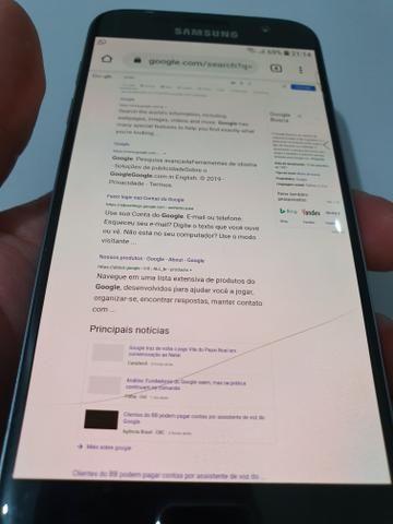 Celular Samsung Galay S7 .muito novo barato - Foto 3