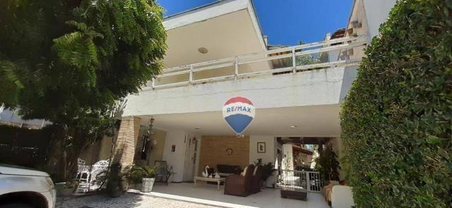 Casa com 5 dormitórios à venda, 259 m² por r$ 1.000.000 - de lourdes - fortaleza/ce
