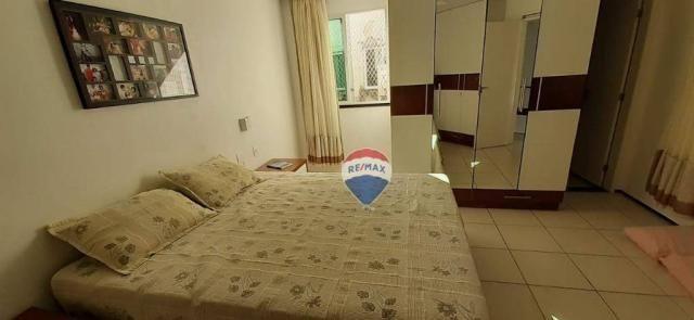Apartamento duplex com 4 dormitórios à venda, 143 m² por r$ 395.000 - papicu - fortaleza/c - Foto 18