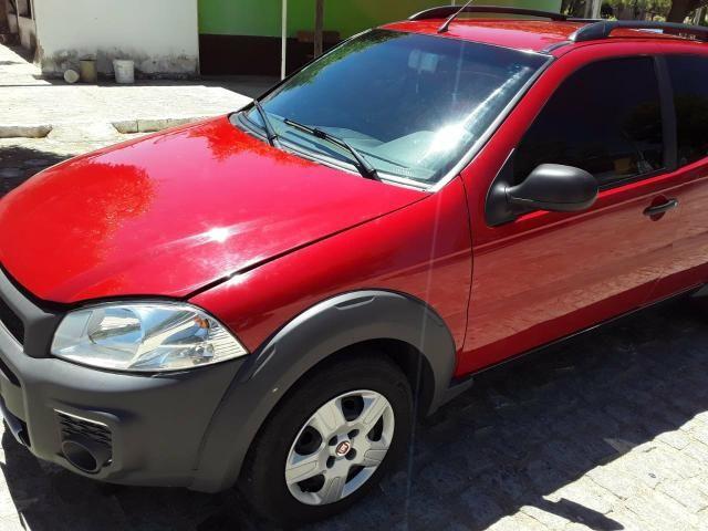 Fiat Strada Working 1.4 vermelha Apenas Venda