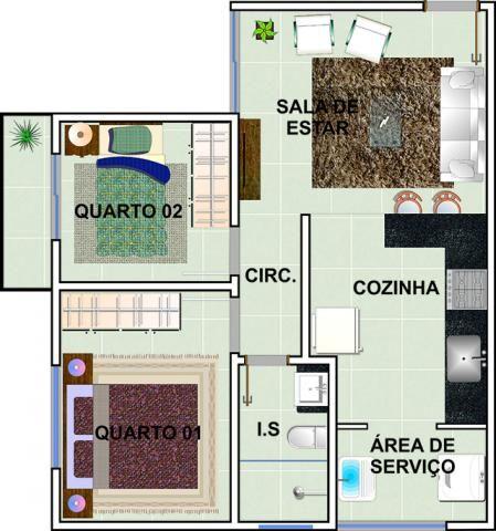 Apartamento à venda com 2 dormitórios em Jardim candelaria, Divinopolis cod:11443 - Foto 13