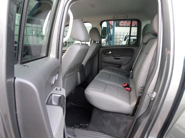 VW Amarok Trendline Diesel Turbo 2018 4x4 Automática (s10 hilux triton ranger) - Foto 13