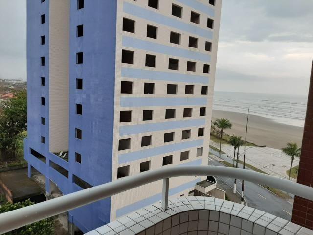 Locação definitiva - Praia Grande - Caiçara - Frente ao Mar - 01 dormitório - Foto 8