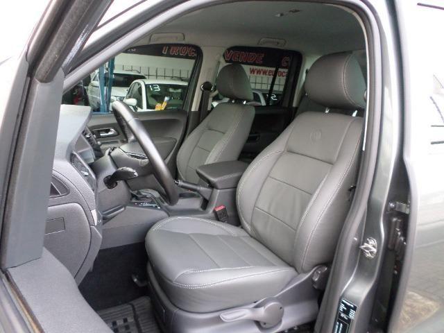 VW Amarok Trendline Diesel Turbo 2018 4x4 Automática (s10 hilux triton ranger) - Foto 11