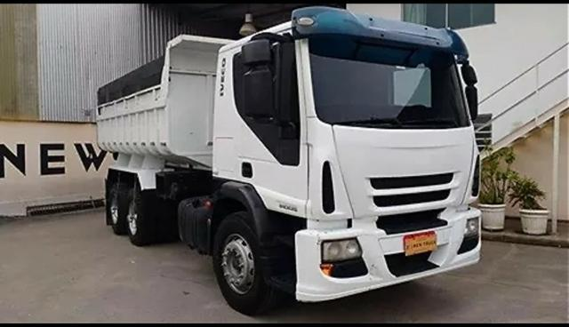 Iveco Tector caçamba-parcelas de R$1.614