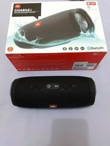 Caixa de Som JBL Charge 3 com Bluetooth/USB - Wirel- Bivolt - Bateria de 6.000 Mah - Foto 2