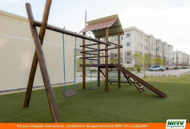RARO! Apartamento 2 Quartos com Jardim Privativo. Parque Chapada Diamantina MRV - Foto 10
