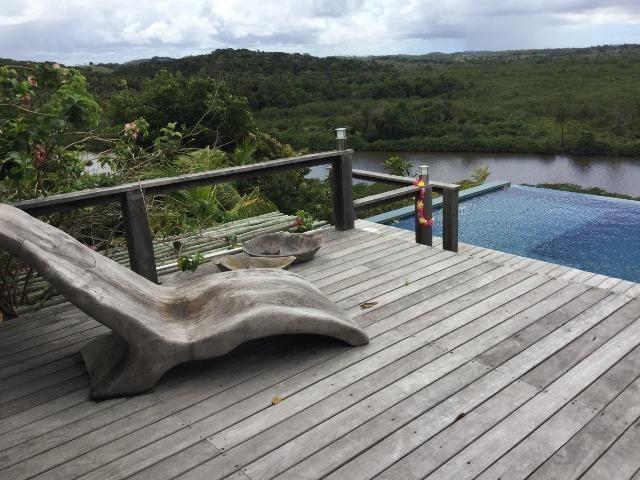 Casa de luxo 5 suites e wi-fi. 100 km de praia do Forte. Vista Paradisiaca - Foto 10