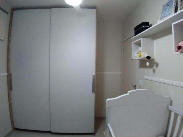 Excelente apartamento 2 Quartos com suíte montado e decorado - Foto 9