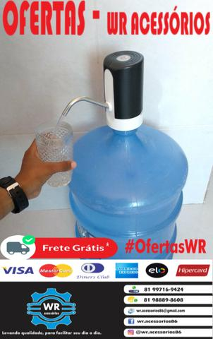 Bebedouro recarregável para garrafão de água mineral - entrega grátis + brinde - Foto 4