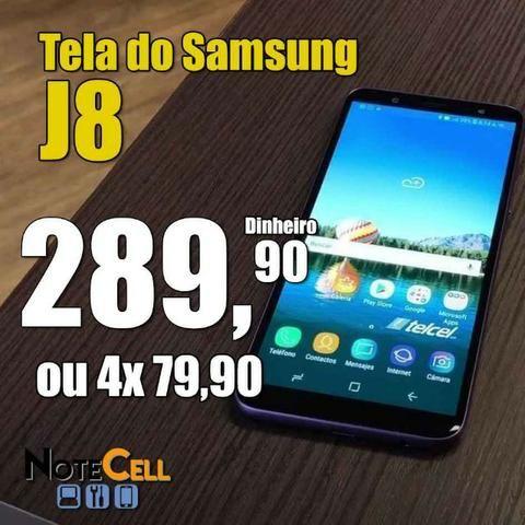 Tela Samsung J8 (Display LCD)