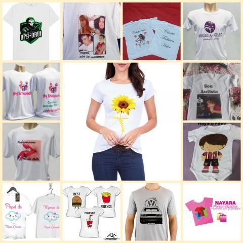 Camisetas Personalizadas - Arte Grátis