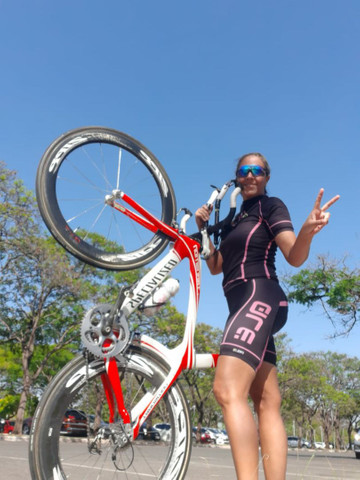Bike TT Triathlon Specialized Transition Pro full carbono - Foto 5