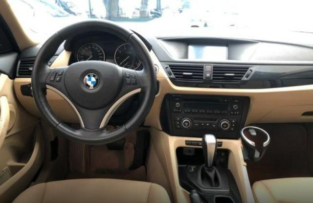 Linda Bmw X1 2.0 16V 2012 Top Branca (interior caramelo) - Foto 13