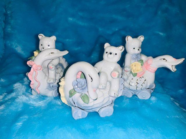 Porcelana conjunto com 3 peças - Foto 4