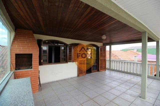 Sobrado com 3 dormitórios para alugar, 240 m² por R$ 5.500,00/mês - Cajuru - Curitiba/PR - Foto 17