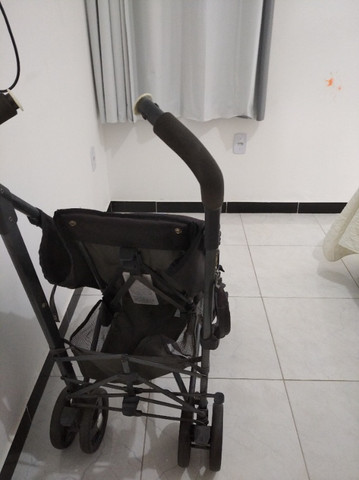 Carro Bebê Desmontável CHIcco Liteway com Guarda Chuva - Foto 5
