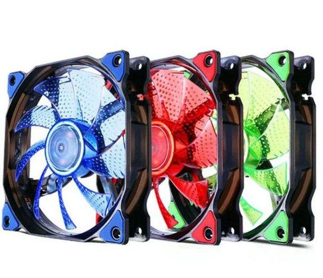 Cooler com led