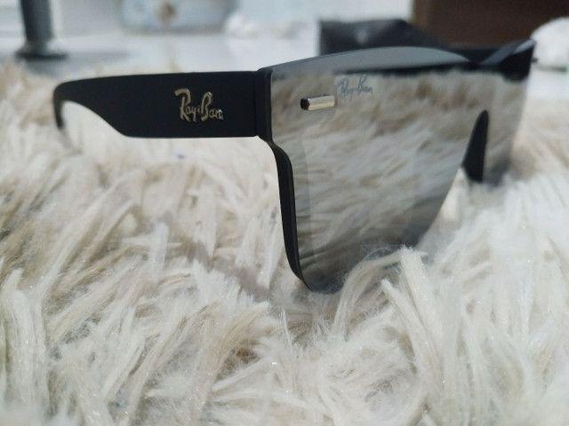Óculos de Sol Ray Ban Tela Reta - Foto 3