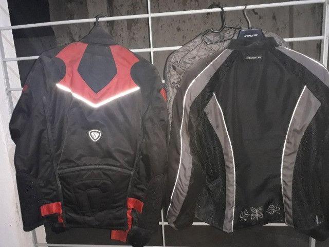Jaqueta de proteção para motociclista - Foto 2