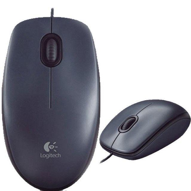 Mouse USB Logitech M90 Óptico Novo Lacrado Garantia - Loja Natan Abreu - Foto 6