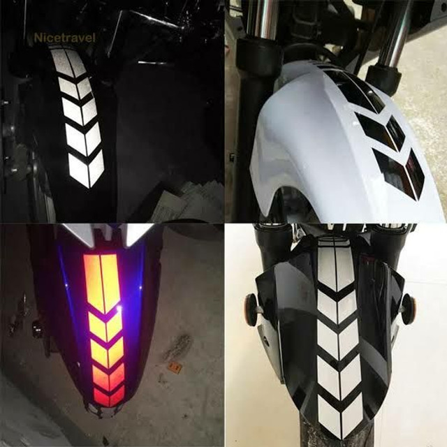 Ades. refletivos de varios modelos de motos