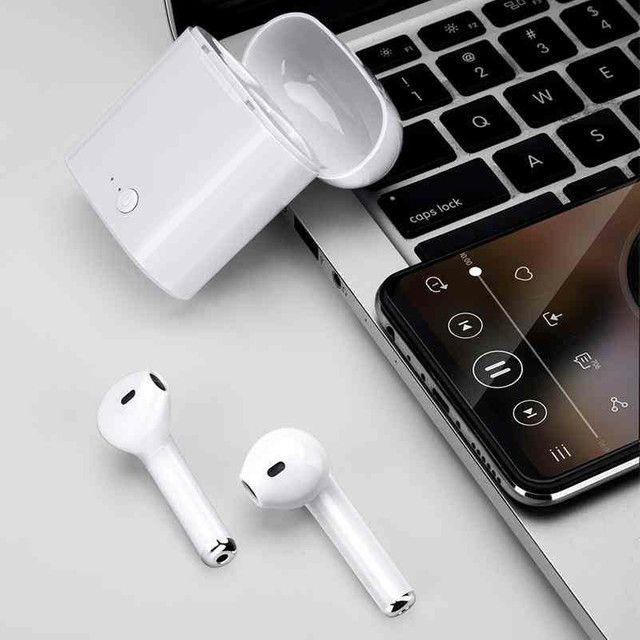 Fone i7s Bluetooth: - Fone de ouvido sem fio - Foto 4